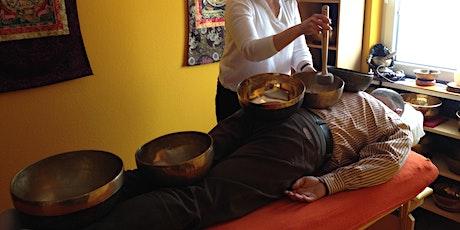 Ausbildung Klangschalenmassage-/therapie (4 x 3 Tage) Tickets