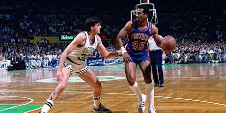 Adrian Dantley  Detroit Pistons  Utah Jazz autograph signing tickets