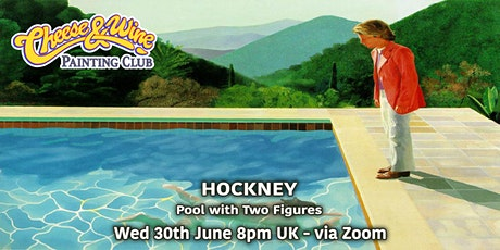 Paint HOCKNEY - Pool with Two Figures - ZOOM Class tickets