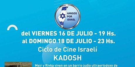 CICLO DE CINE ISRAELI entradas