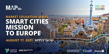 Smart Cities Market Education Series  to Europe tickets