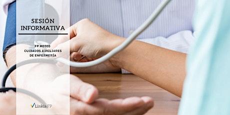 Sesión Informativa: Grado Medio Cuidados Auxiliares de Enfermería Online entradas