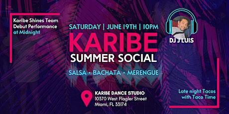 Karibe Summer Salsa & Bachata Social tickets