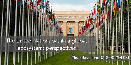 The United Nations within a global ecosystem: perspectives tickets