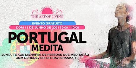 Portugal medita com Sri Sri Ravi Shankar tickets