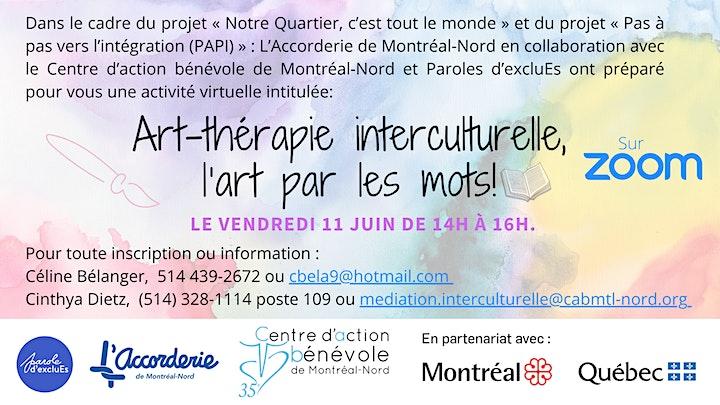 Image de Art-thérapie interculturelle, l'art par les mots!