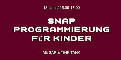 SNAP Programmierung für Kinder billets