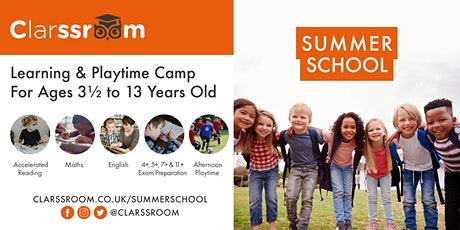 Dartford Private Tuition - Summer Term & Summer School Trial Session tickets