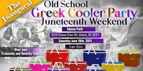 """THE INAUGURAL """"OLD SCHOOL GREEK"""" COOLER PARTY! tickets"""