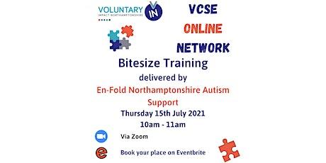 VCSE Online Network - Bitesize Training with En-Fold tickets