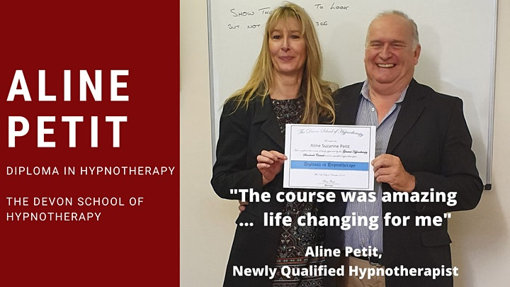 Accredited Hypnotherapy Training image