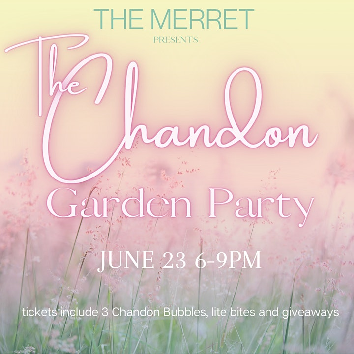 The Garden Party -Sponsored by Chandon image