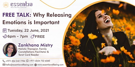 Free Talk: Why Releasing Emotions is Important with Zankhana Mistry tickets