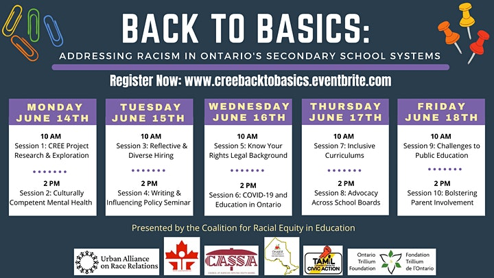 Back to Basics: Addressing Racism in Ontario's Secondary School System image