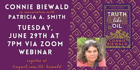 Connie Biewald in conversation with Patricia A. Smith tickets