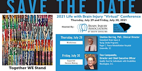 2021 Life with Brain Injury Conference Tickets
