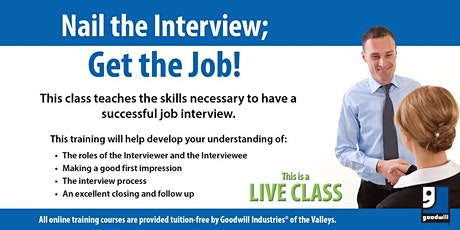 Nail the Interview, Get the Job tickets