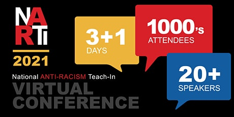 2021 National Anti-Racism Teach-In tickets