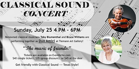 Classical Sound Concert tickets
