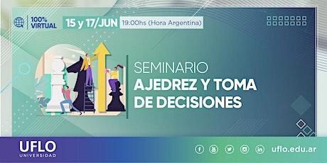 Seminario Ajedrez y Toma de Decisiones entradas