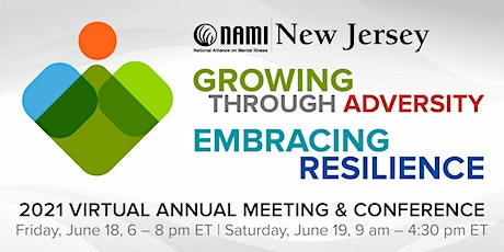 NAMI NJ Virtual Annual Meeting & Conference 2021 tickets