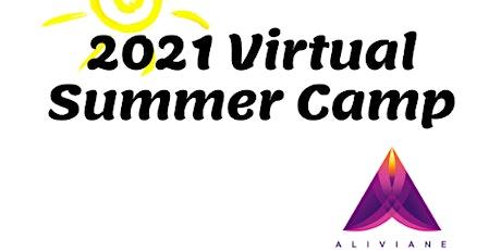 Aliviane's Virtual Summer Camp tickets
