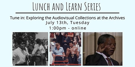 Tune In: Exploring the Audiovisual Collections at the Archives tickets