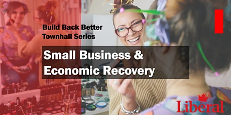 Build Back Better! Town Hall on Small Business and Economic Recovery tickets