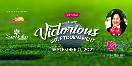 """3rd Annual """"A Very Victorious Golf Tournament"""" tickets"""