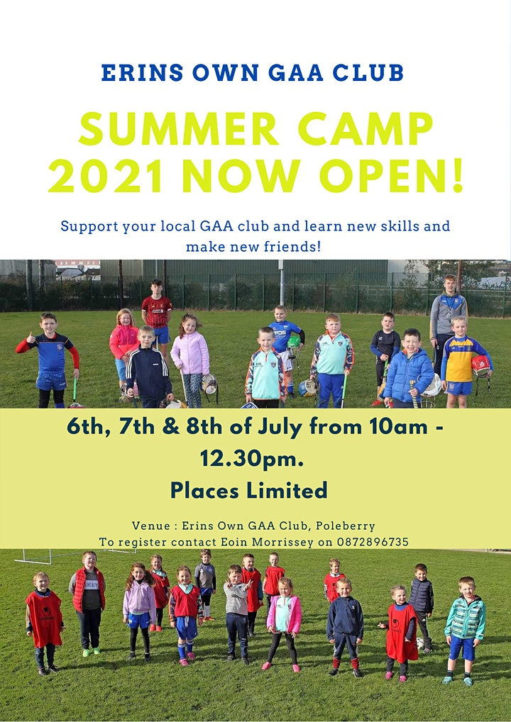 Erin's Own Summer Camp  2021 image