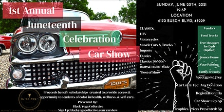1st Annual Juneteenth Celebration Car Show tickets