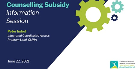 Counselling Subsidy Lethbridge - Information Session tickets