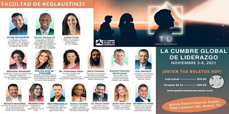 Cumbre Global de Liderazgo Austin 2021 tickets
