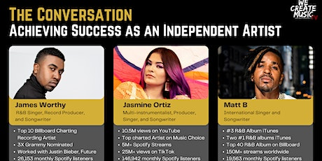 The Conversation: Achieving Success  as an Independent Artist Panel tickets