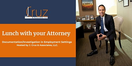 Lunch with your Attorney: Documentation in Employment Settings tickets