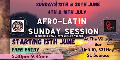 Afro-Latin Sunday Session tickets
