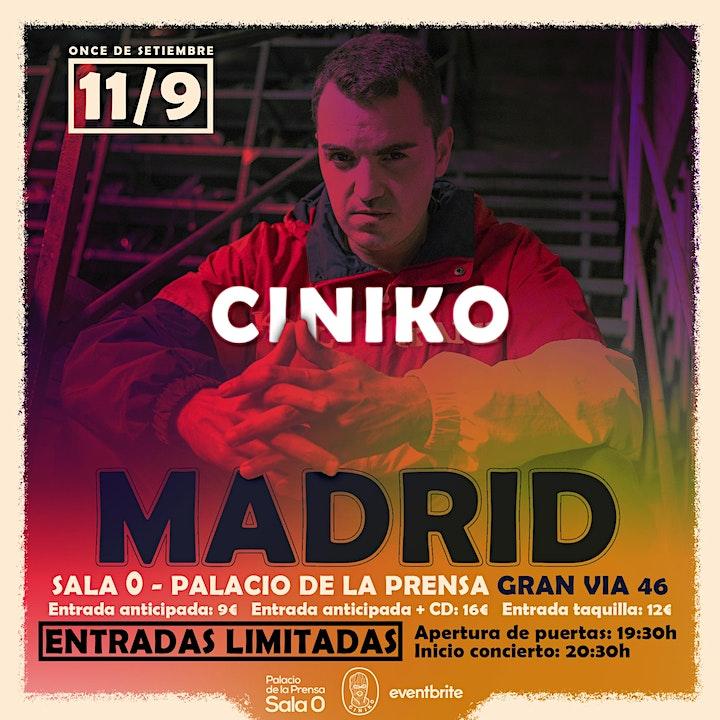 Imagen de Ciniko en Madrid, Sala 0-Palacio de la Prensa