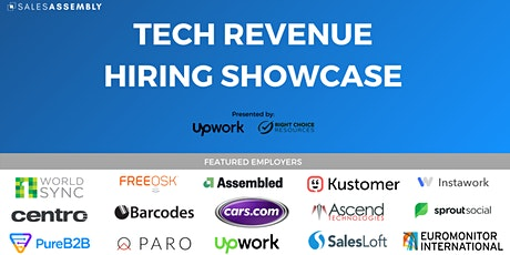 Tech Revenue Hiring Showcase tickets