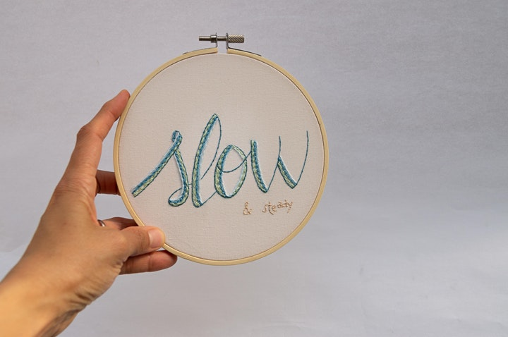 """""""Note to Self"""" Embroidery with Marcelina Salazar image"""