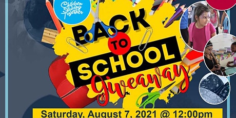 8th Annual Back to School Giveaway tickets