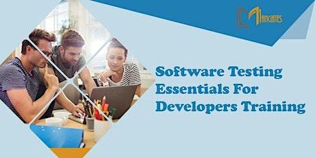 Software Testing Essentials For Developers 1DayVirtualLiveTrainingin Lugano tickets