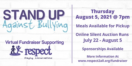 Stand Up Against Bullying Virtual Fundraiser 2021 tickets
