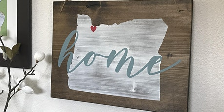 Custom Wood Sign Painting - Olivia Grace Paper Co. tickets
