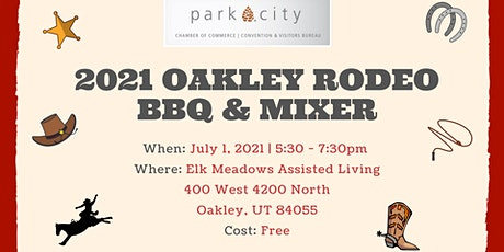 2021 Oakley Rodeo BBQ & Mixer tickets