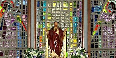 Mass:  SATURDAY  19 June, 5.30pm - St Peter's tickets