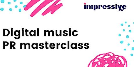 Digital Music PR Masterclass tickets