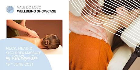 Head, neck & shoulder massage teaser with VDL Royal SPA tickets