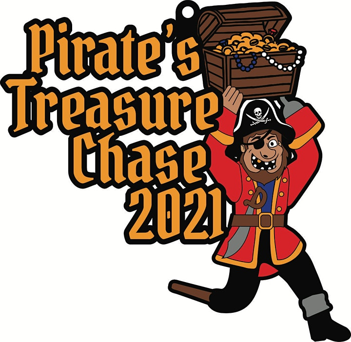 2021 Pirate's Treasure Chase 5K 10K 13.1 26.2-Participate from Home.Save $5 image