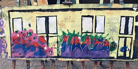 Ferienwoche: Kunst für alle: Graffiti und Streetart – mit Ausstellung Tickets