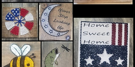 String Art with Lisa Sleepy Cat Winery Allentown tickets